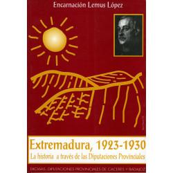 Extremadura, 1923-1930