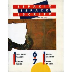 Espacio/Espaço escrito nº 6-7